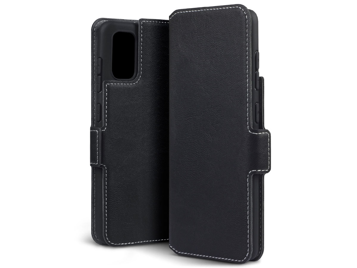 CaseBoutique Slim Bookcase Zwart - Samsung Galaxy A41 hoesje