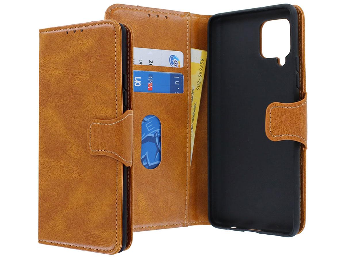 CaseBoutique Classic BookCase Cognac - Samsung Galaxy A42 hoesje