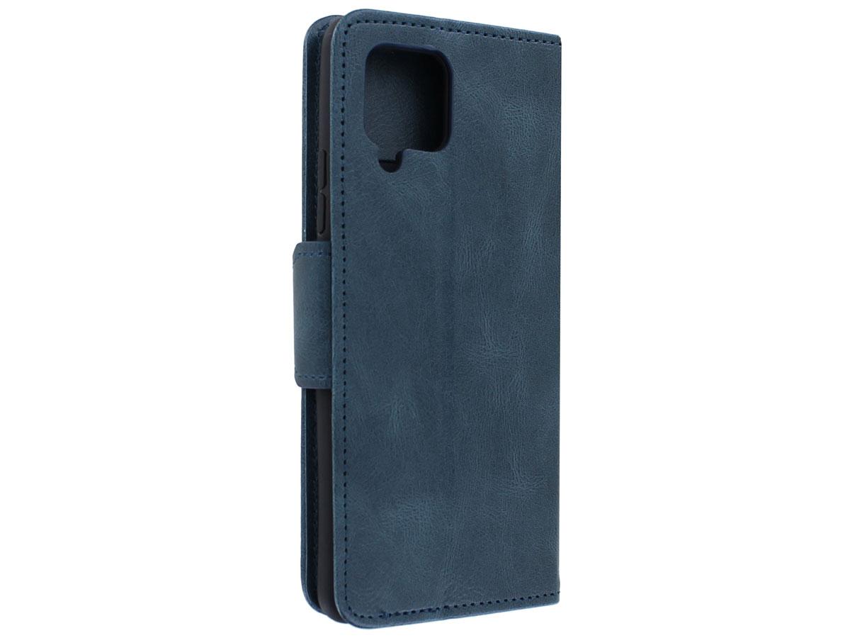 CaseBoutique Classic BookCase Blauw - Samsung Galaxy A42 hoesje