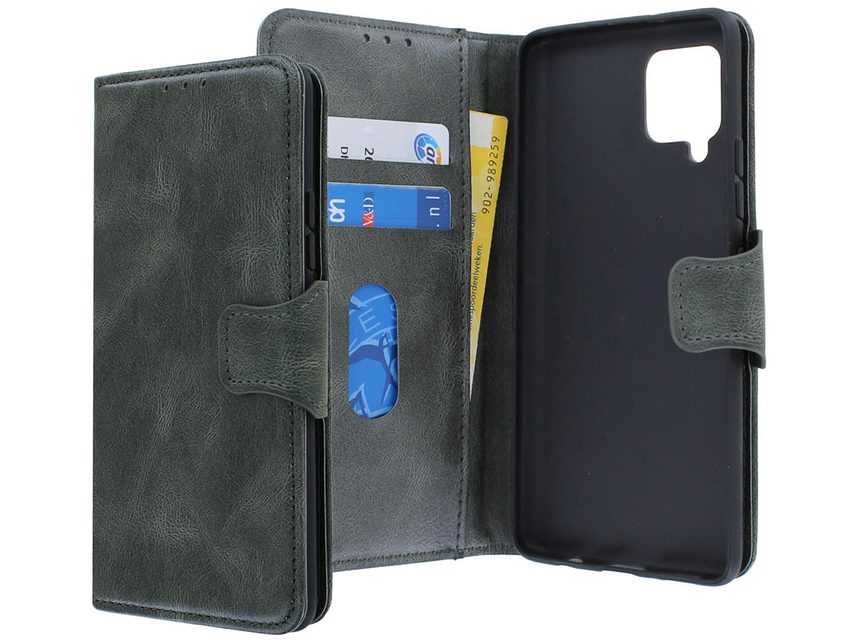 CaseBoutique Classic BookCase Groen - Samsung Galaxy A42 hoesje