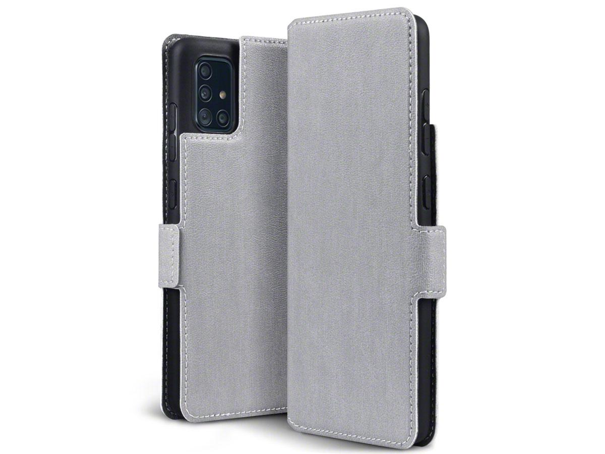CaseBoutique Slim Bookcase Grijs - Samsung Galaxy A51 hoesje