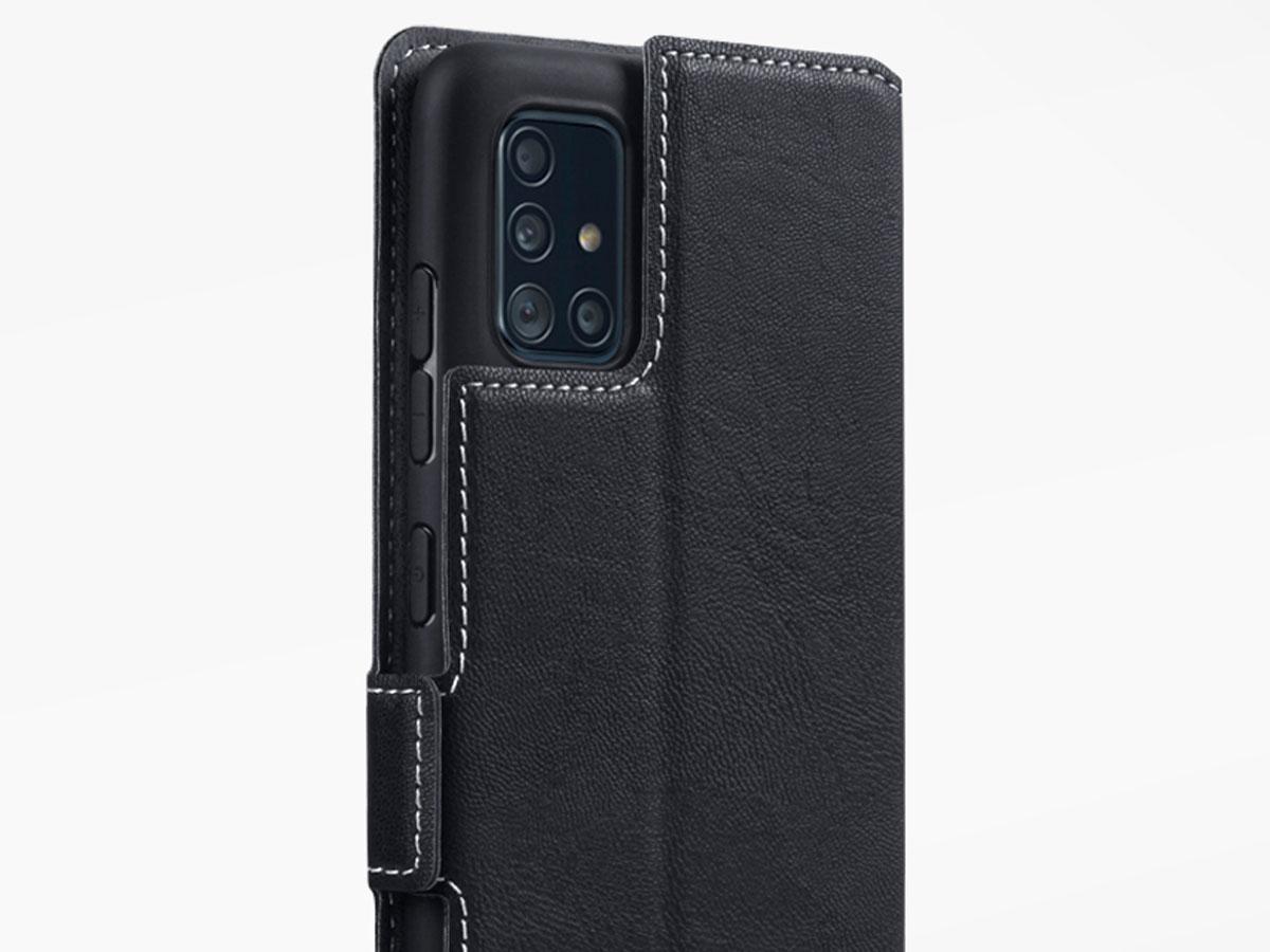 CaseBoutique Slim Bookcase Zwart - Samsung Galaxy A51 hoesje