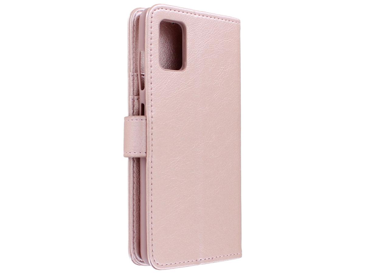 Book Case Deluxe Rosé - Samsung Galaxy A51 hoesje