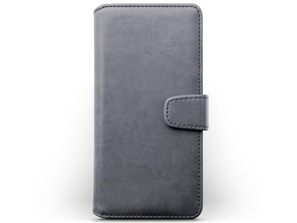 CaseBoutique Wallet Case Grijs Leer - Samsung Galaxy A51 hoesje