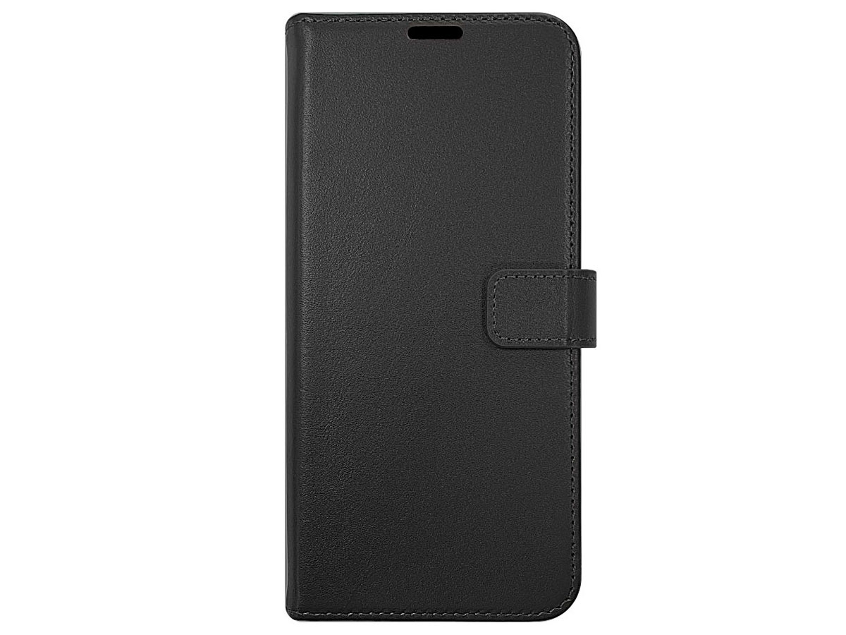 Valenta Leather Bookcase Zwart - Samsung Galaxy A52/A52s hoesje