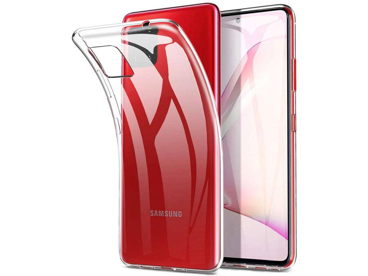 Clear TPU Case - Doorzichtig Samsung Galaxy Note 10 Lite hoesje