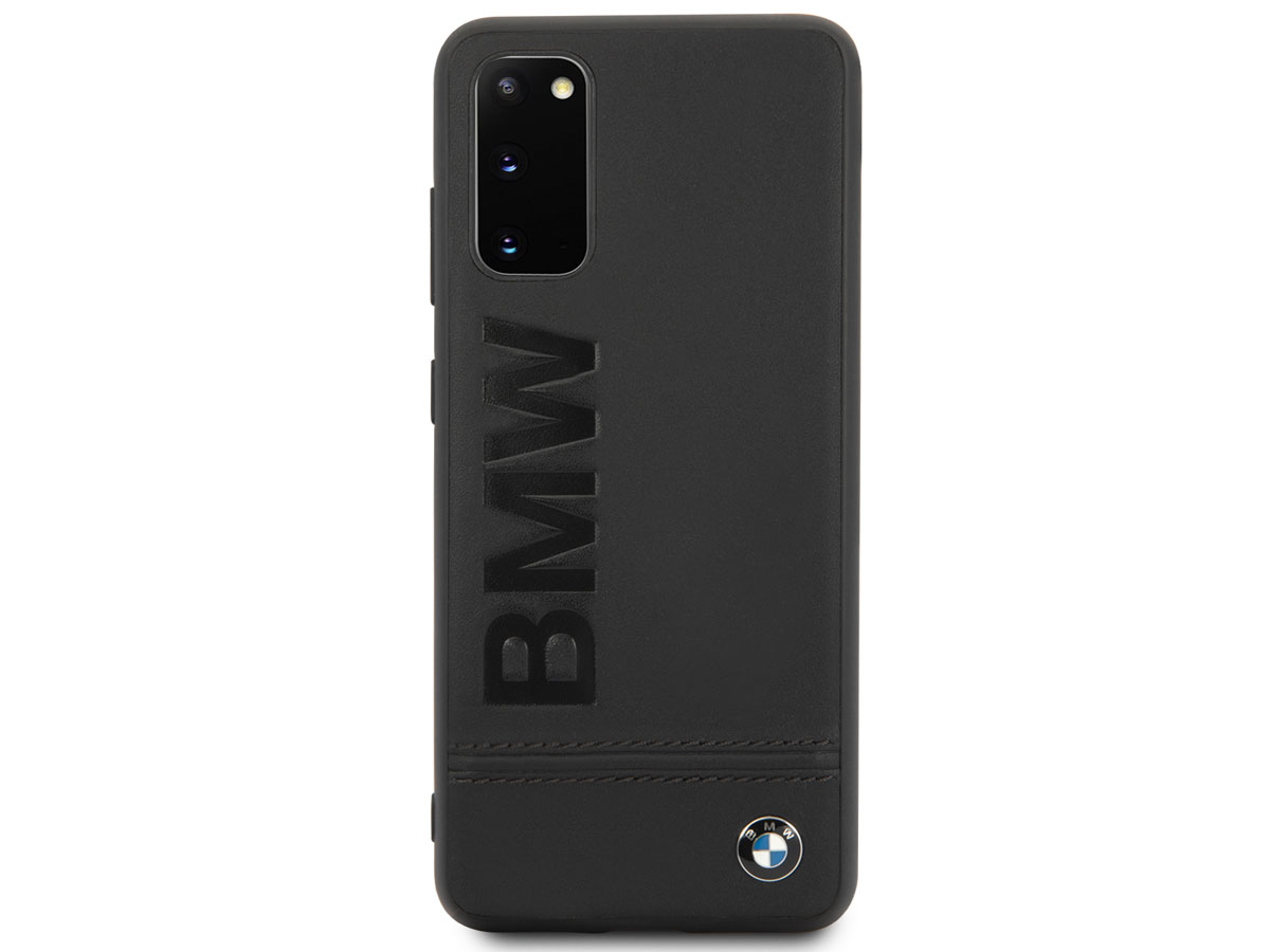 BMW Signature Leather Case - Samsung Galaxy S20 hoesje