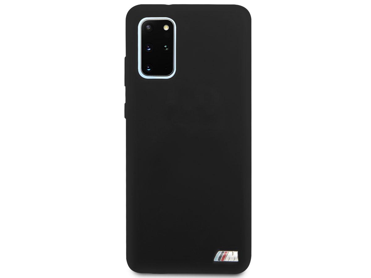 BMW M Sport Silicon Case Zwart - Samsung Galaxy S20+ hoesje