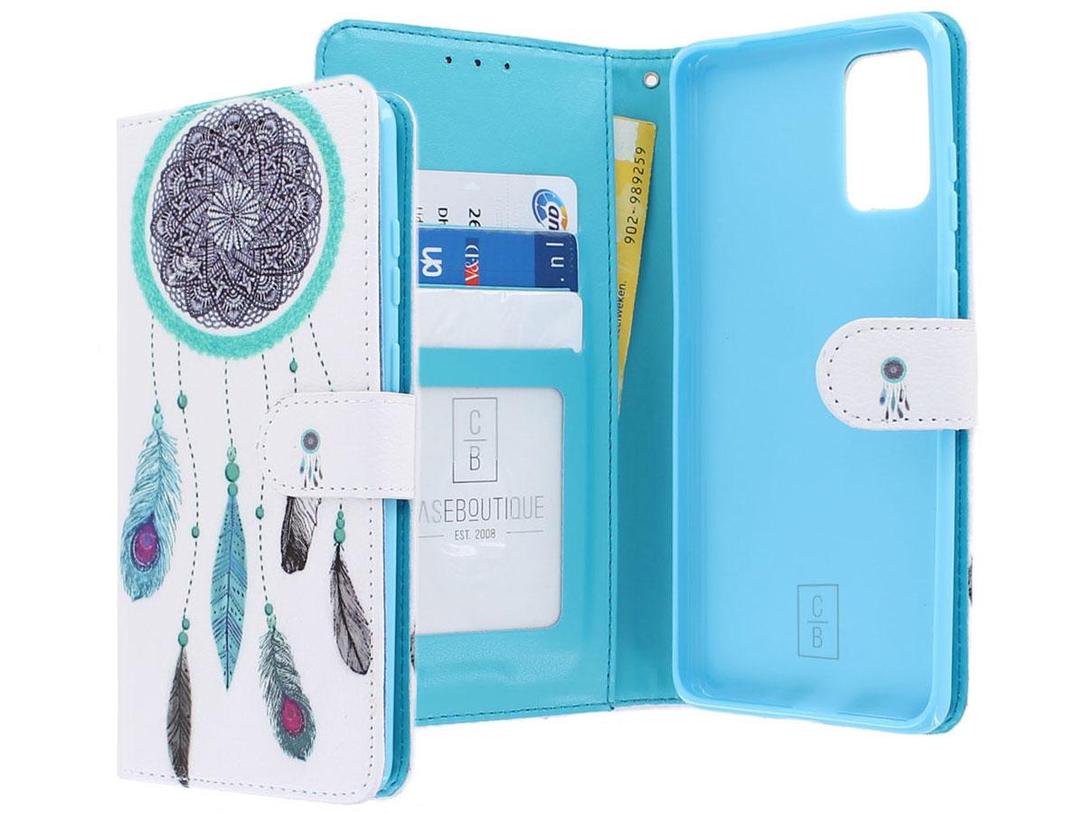 Book Case Mapje Dromenvanger - Samsung Galaxy S20+ hoesje