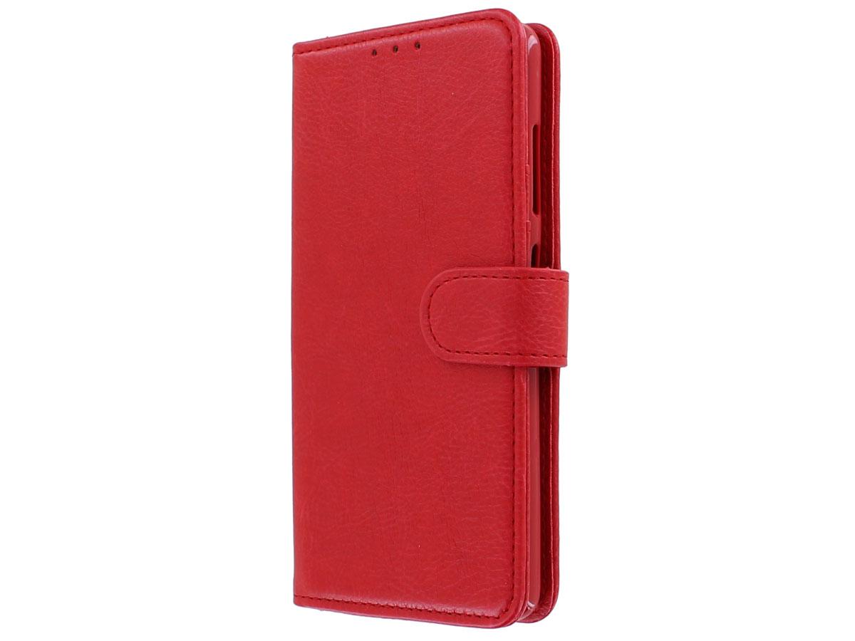 Book Case Deluxe Rood - Samsung Galaxy S20+ hoesje