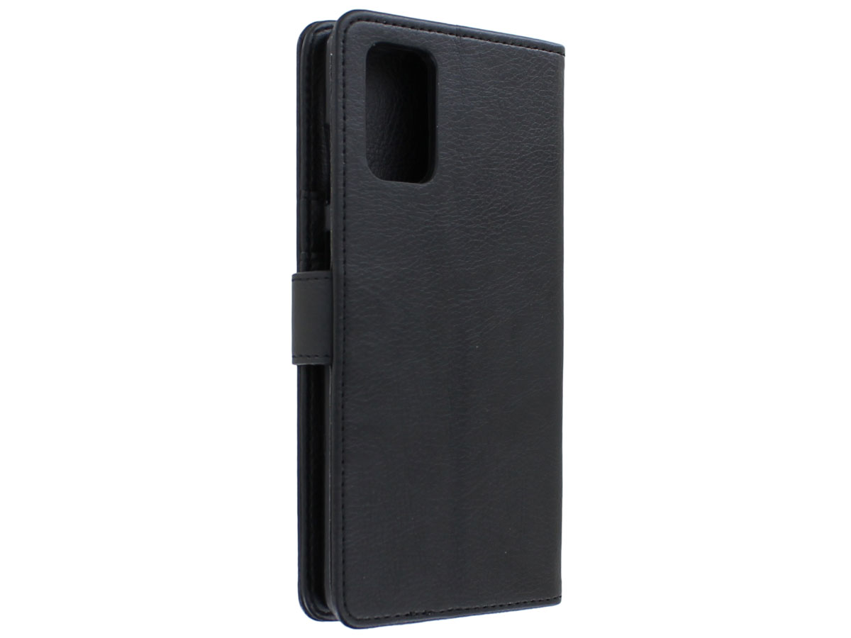 Book Case Deluxe Zwart - Samsung Galaxy S20+ hoesje