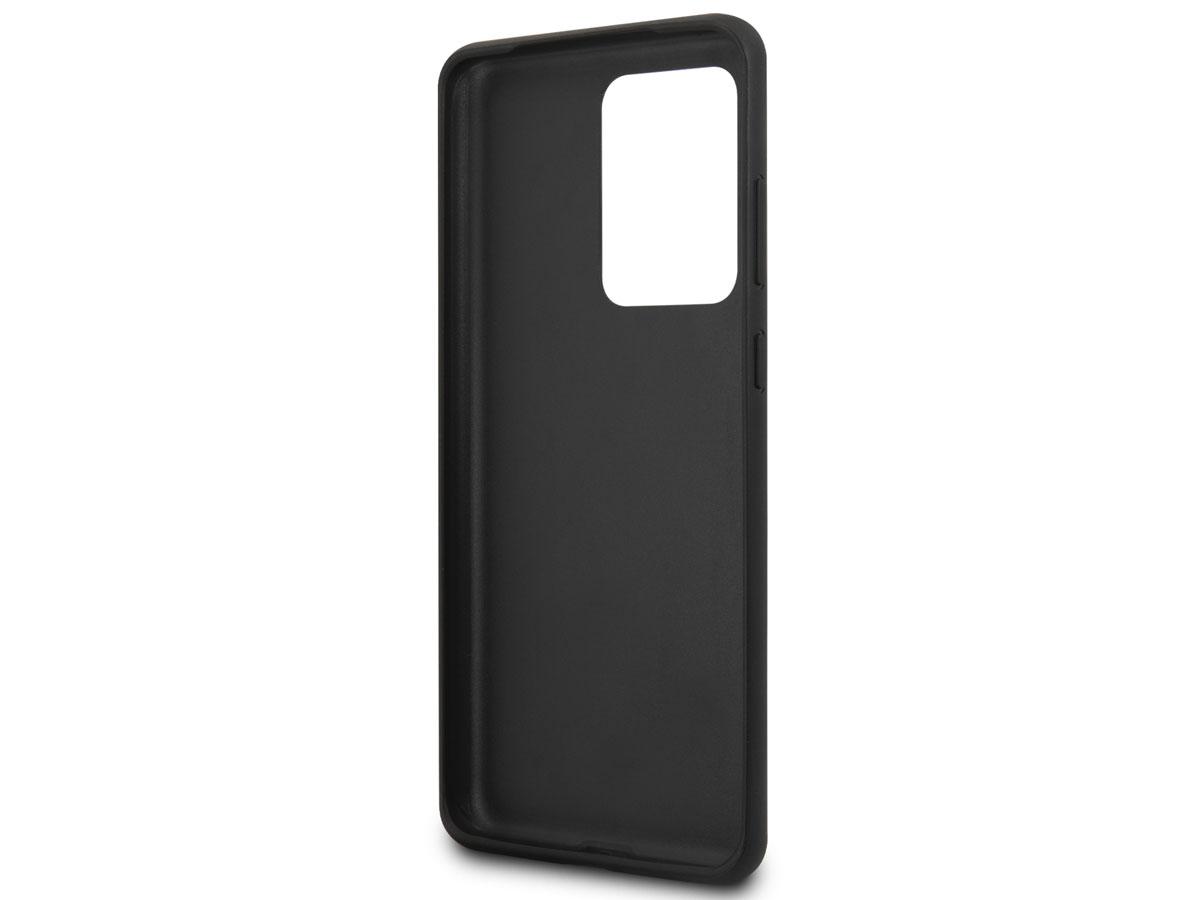Guess 4G Monogram Case Bruin - Samsung Galaxy S20 Ultra hoesje