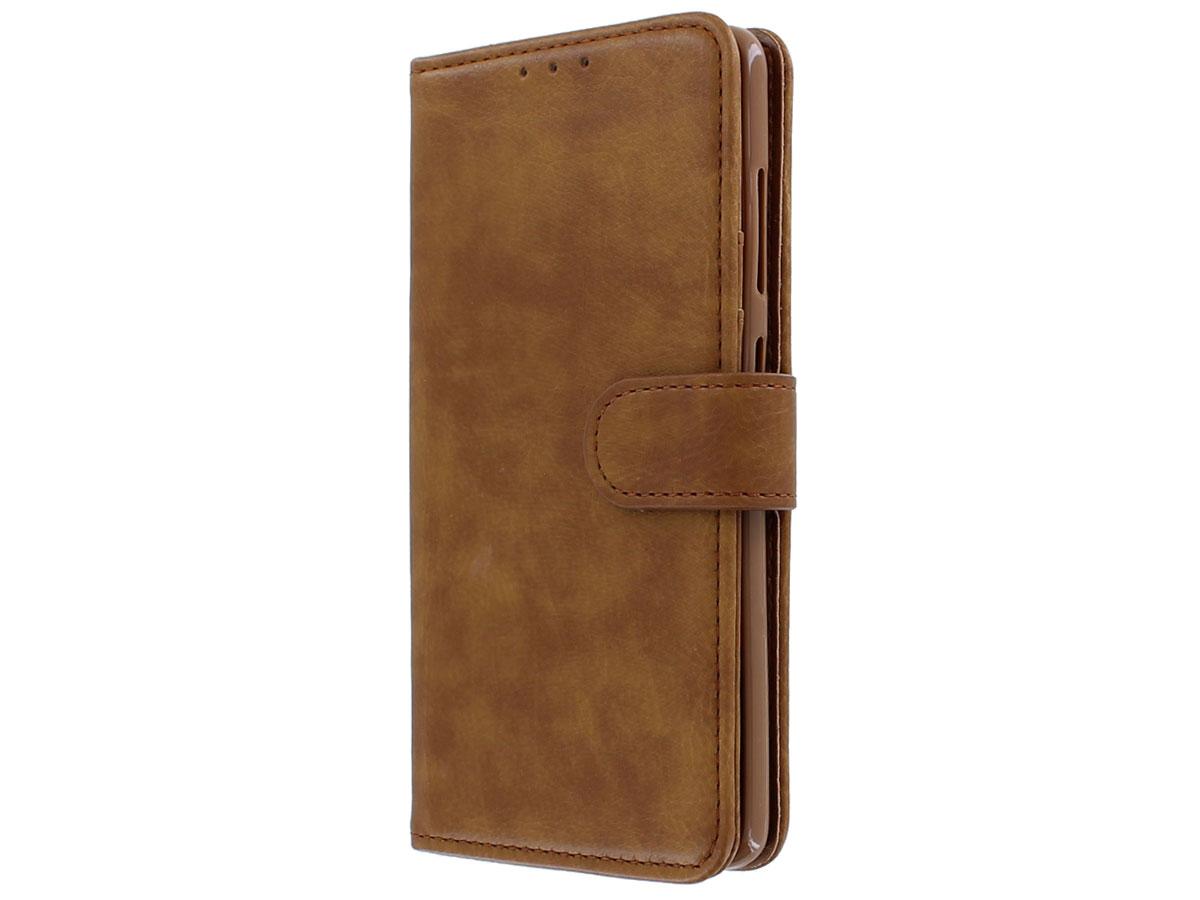Book Case Deluxe Bruin - Samsung Galaxy S20 Ultra hoesje