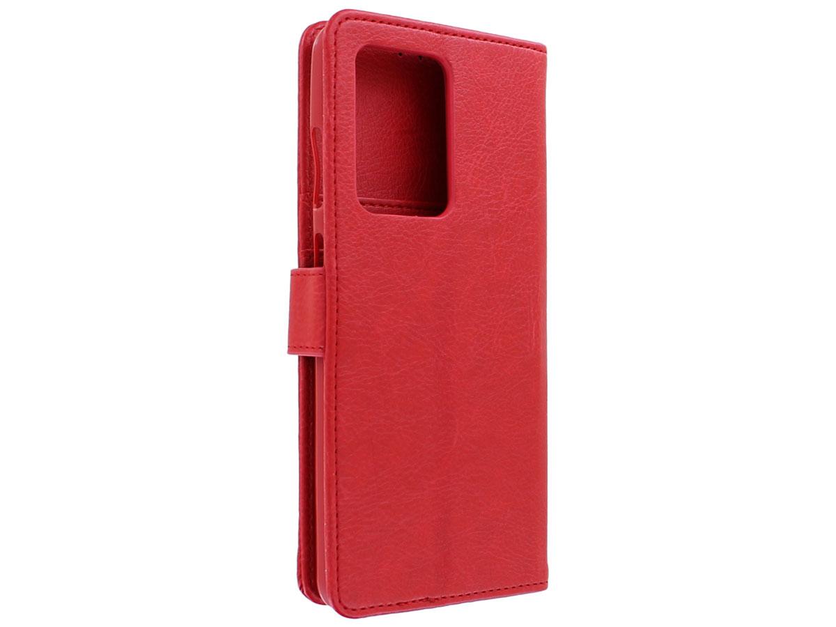 Book Case Deluxe Rood - Samsung Galaxy S20 Ultra hoesje