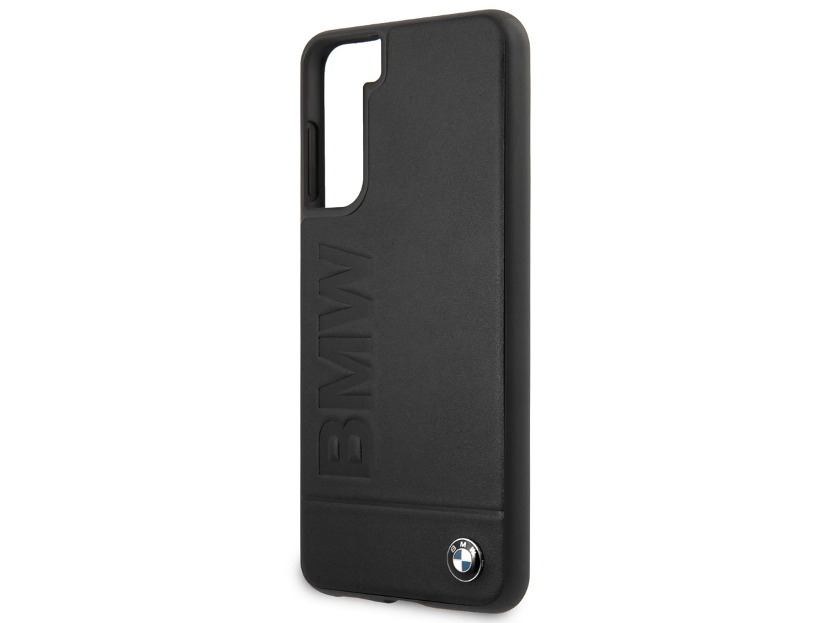 BMW Signature Leather Case - Samsung Galaxy S21 hoesje