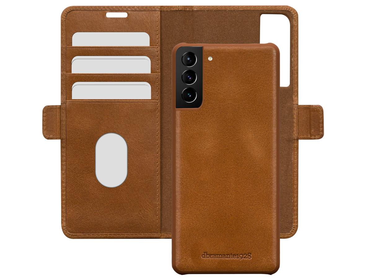 dbramante1928 Lynge 2in1 Case Tan - Samsung Galaxy S21 hoesje