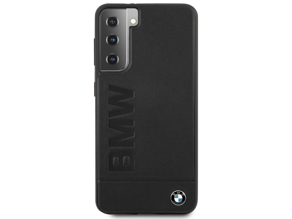 BMW Signature Leather Case - Samsung Galaxy S21+ hoesje