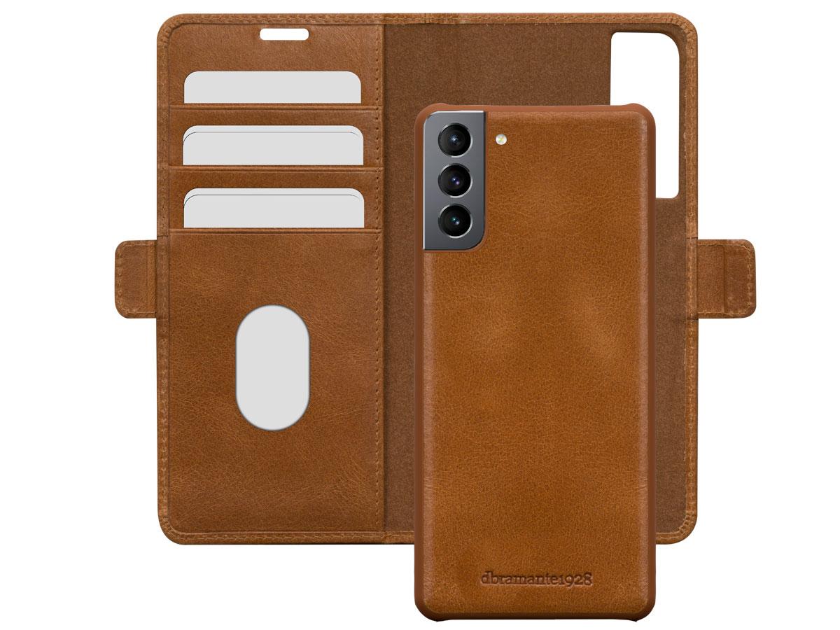 dbramante1928 Lynge 2in1 Case Tan - Samsung Galaxy S21+ hoesje