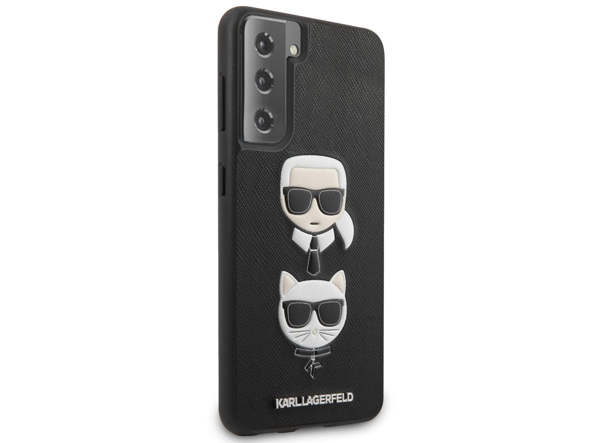 Karl Lagerfeld & Choupette Case - Samsung Galaxy S21+ hoesje