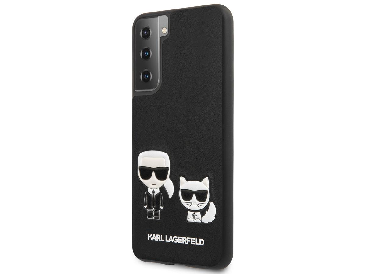 Karl Lagerfeld Choupette Ikonik Case - Samsung Galaxy S21+ hoesje