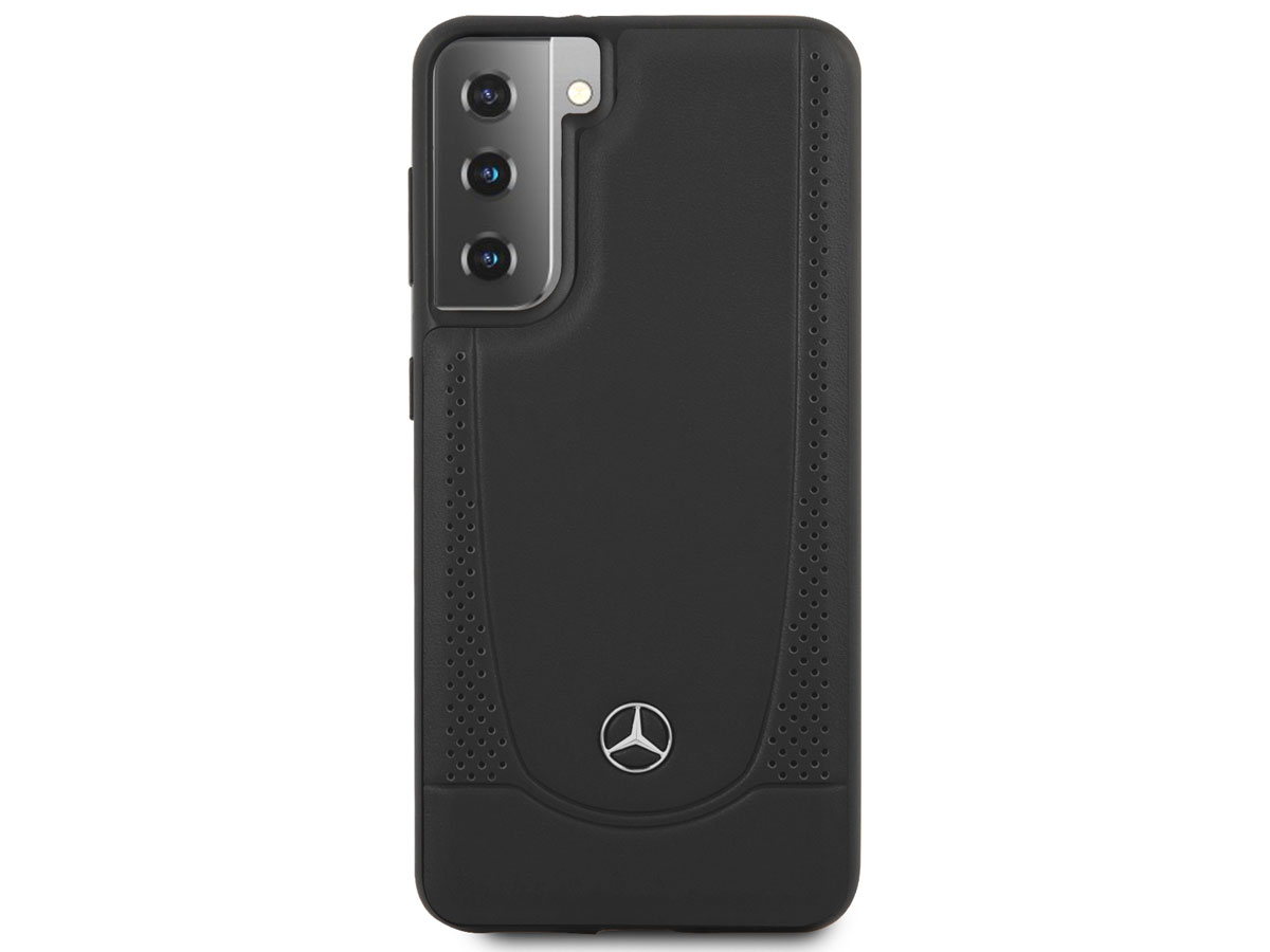 Mercedes-Benz Urban Leather Case - Samsung Galaxy S21+ hoesje
