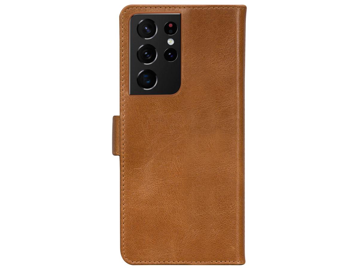 dbramante1928 Lynge 2in1 Case Tan - Samsung Galaxy S21 Ultra hoesje