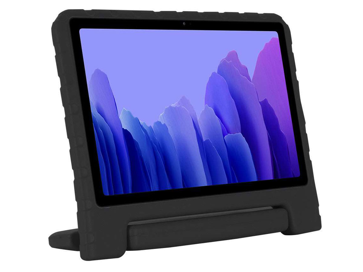 Kidsproof Case Zwart - Samsung Galaxy Tab A7 2020 Hoesje voor Kinderen