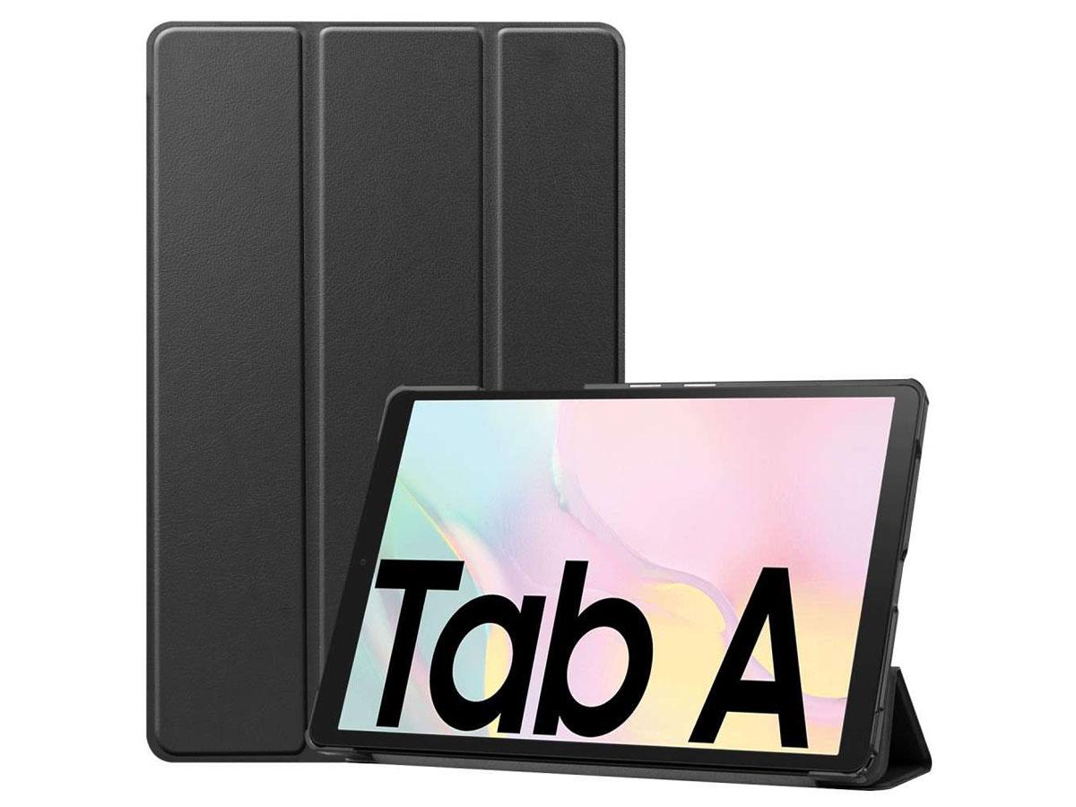 Smart Bookcase Zwart - Samsung Galaxy Tab A7 2020 Hoesje