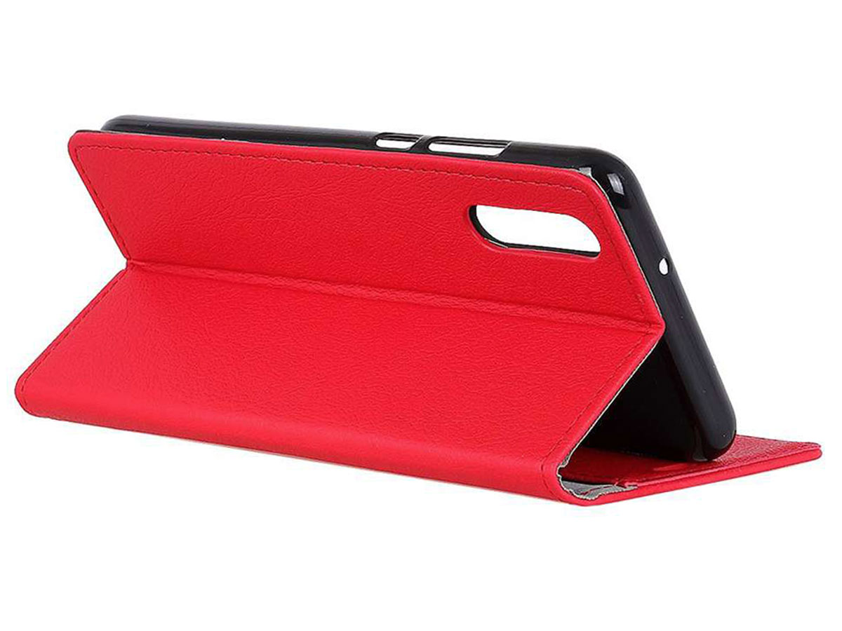 Book Case Basic Rood - Samsung Galaxy Xcover Pro hoesje