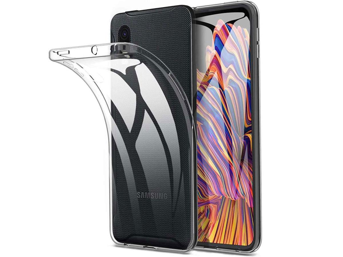 Transparante TPU Case - Doorzichtig Samsung Galaxy Xcover Pro Hoesje