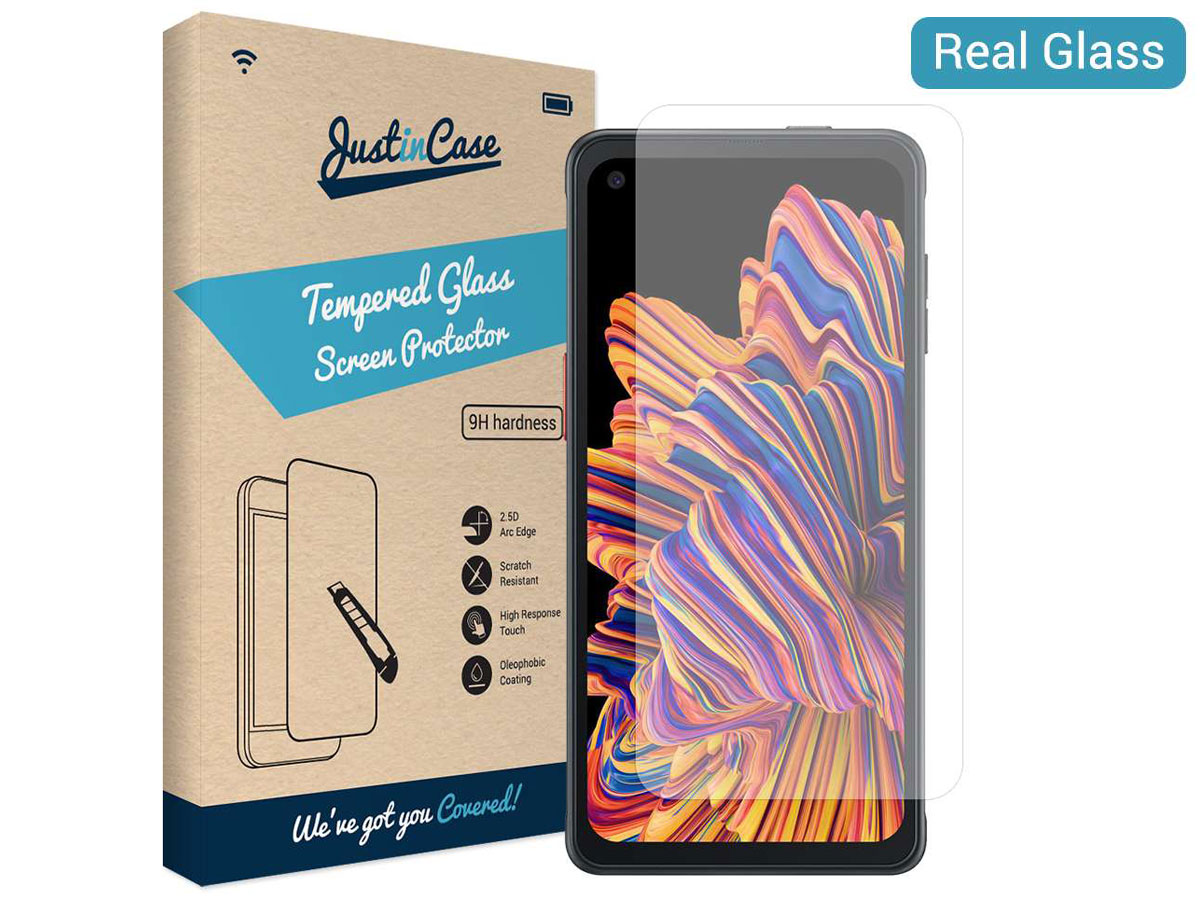 Samsung Galaxy Xcover Pro Screen Protector Tempered Glass