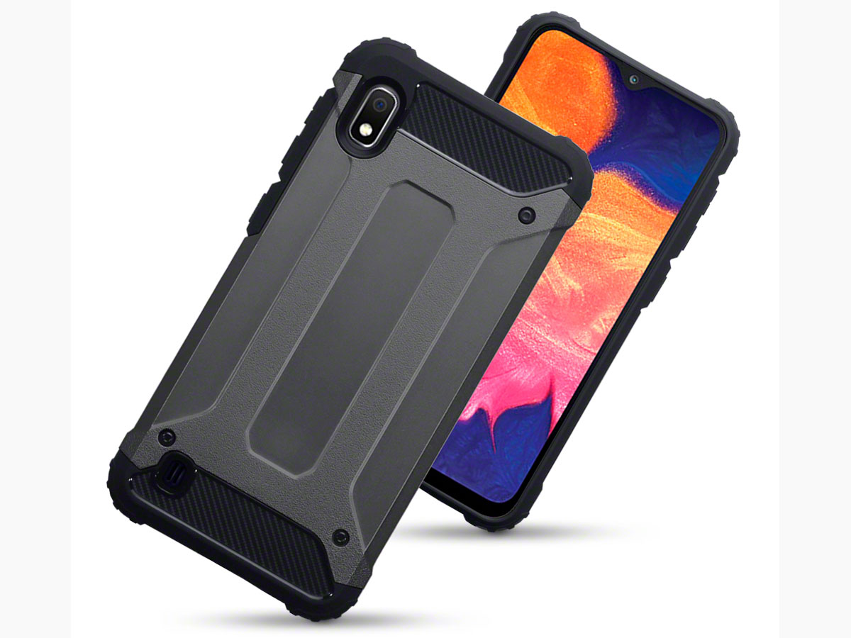 CaseBoutique Ultra Tough Case Grijs - Samsung Galaxy A10 hoesje