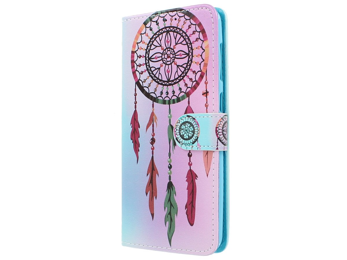 Book Case Mapje Dreamcatcher - Samsung Galaxy A50 hoesje