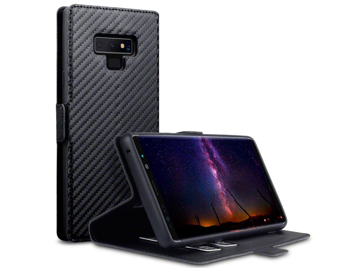 CaseBoutique SlimFit Case Carbon - Galaxy Note 9 hoesje