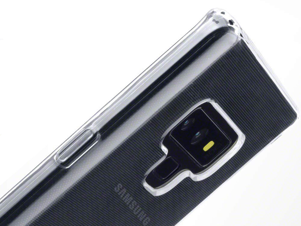 CaseBoutique TPU Transparant - Galaxy Note 9 hoesje