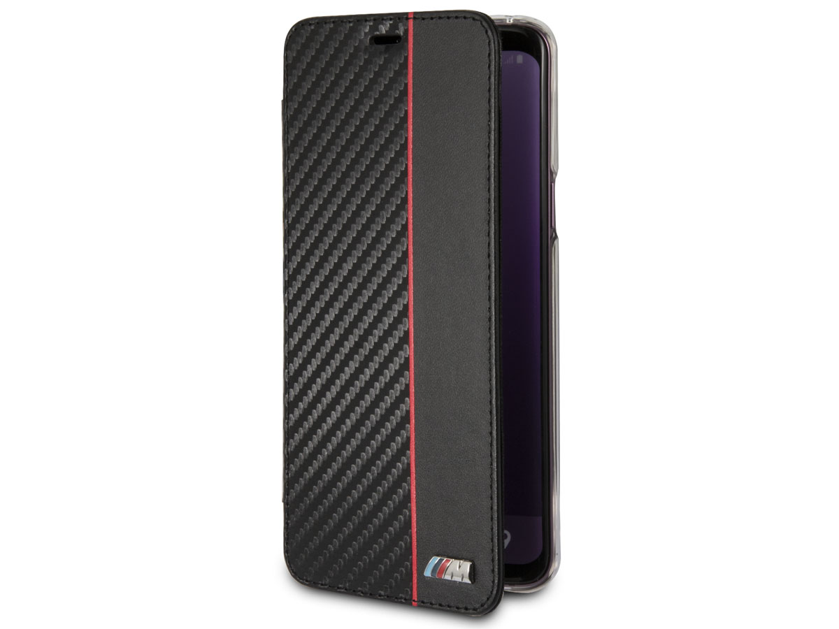 BMW M Sport Bookcase Rood - Samsung Galaxy S9 hoesje