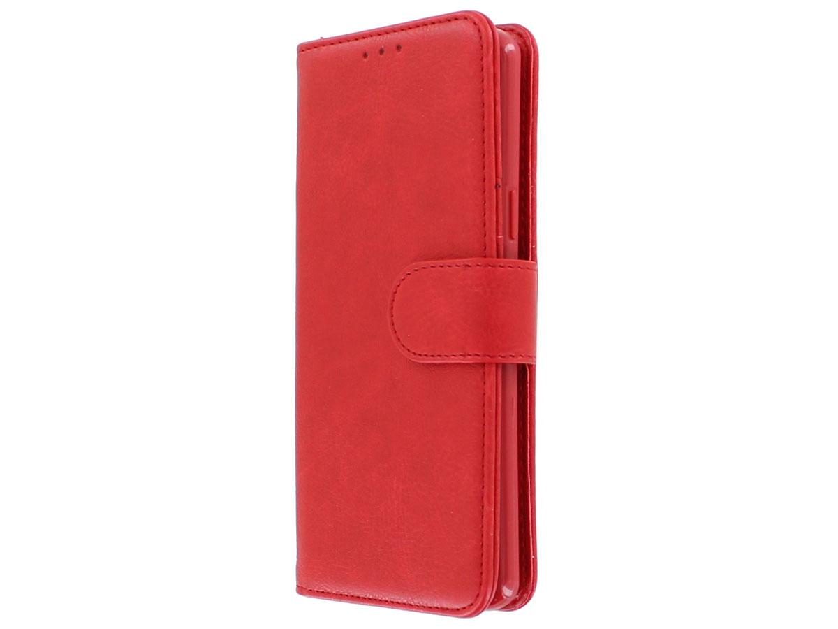 47342b48e92 Bookcase Deluxe Rood - Samsung Galaxy S9 hoesje ...