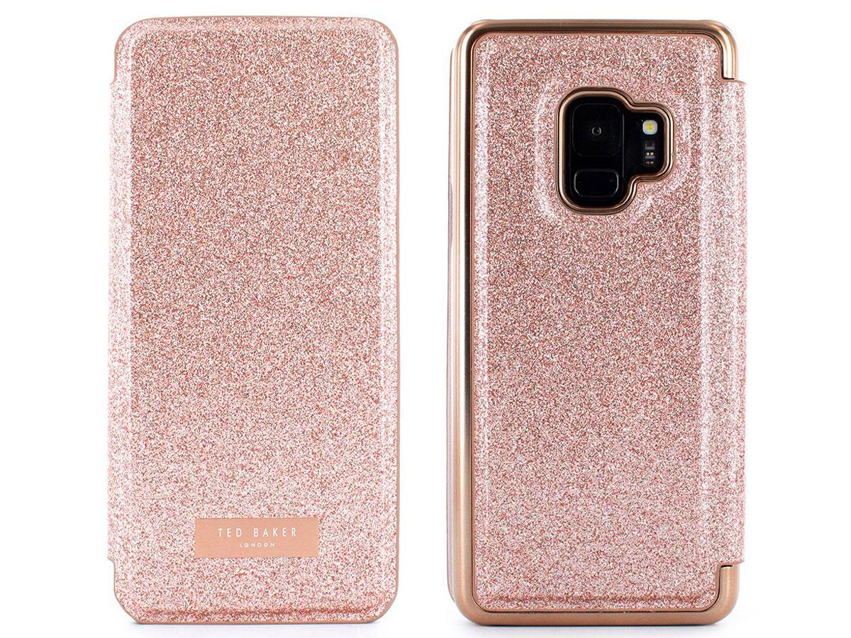 brand new 6bf42 46bed Ted Baker Glitsie Folio | Samsung Galaxy S9 hoesje