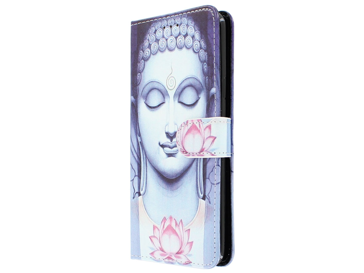 Buddha Lily Bookcase Wallet - Samsung Galaxy S9+ hoesje