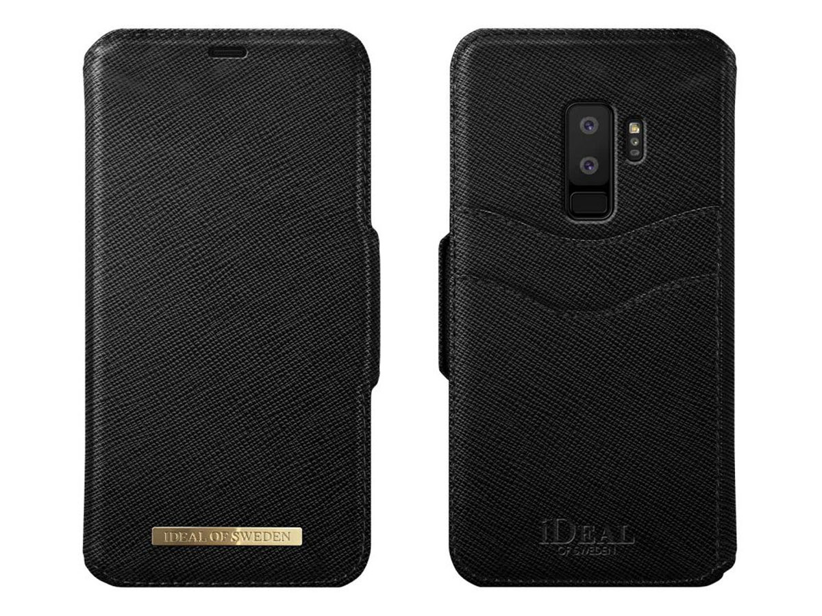 iDeal of Sweden Fashion Wallet BLK - Galaxy S9+ hoesje