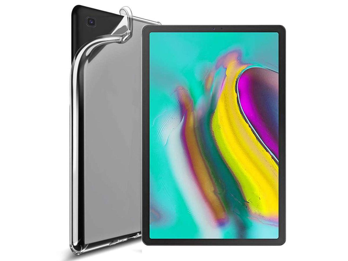 Crystal TPU Skin Case - Samsung Galaxy Tab S5e Hoesje Transparant
