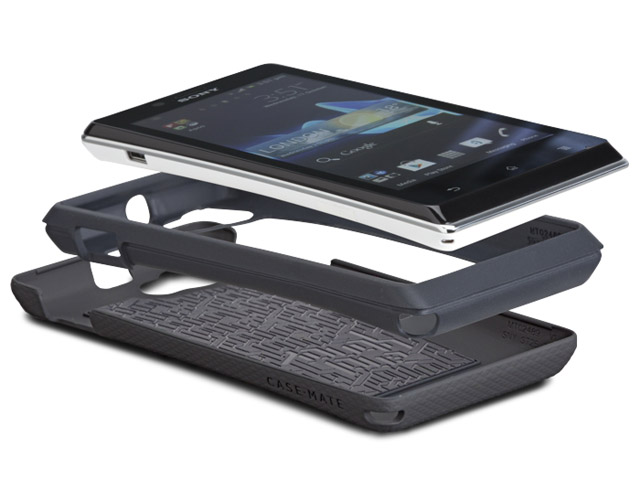 Case-Mate Tough Dual Protection Case voor Sony Xperia J