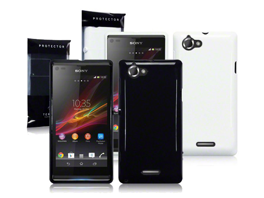 CaseBoutique Solid TPU Skin Case Hoesje voor Sony Xperia L