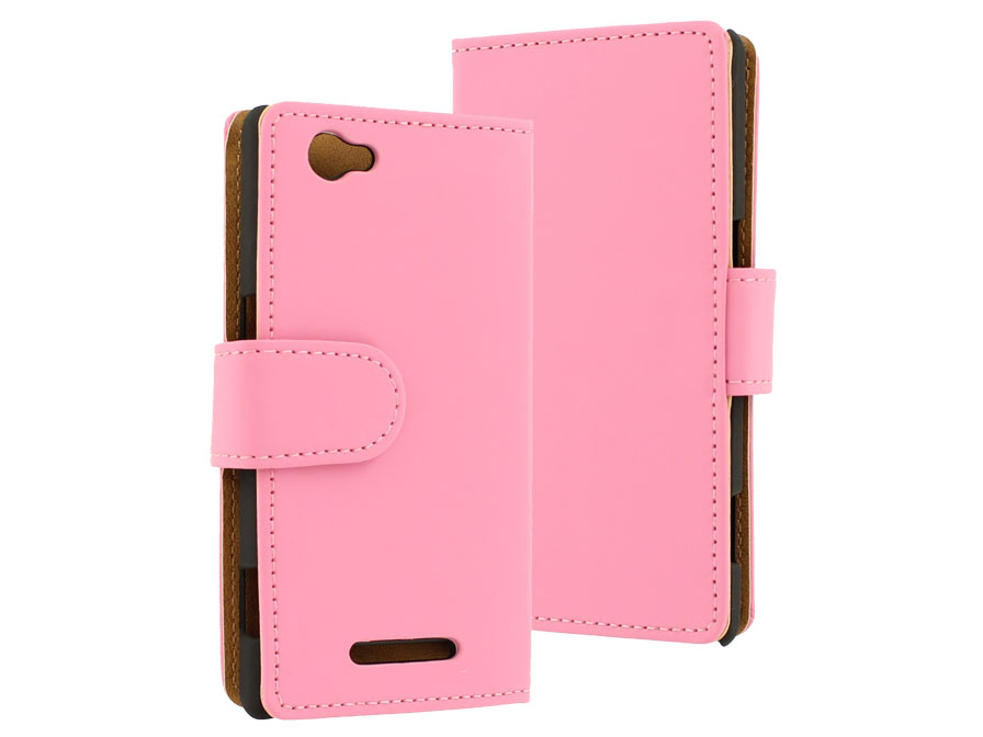 Classic Book Case Hoesje voor Sony Xperia M