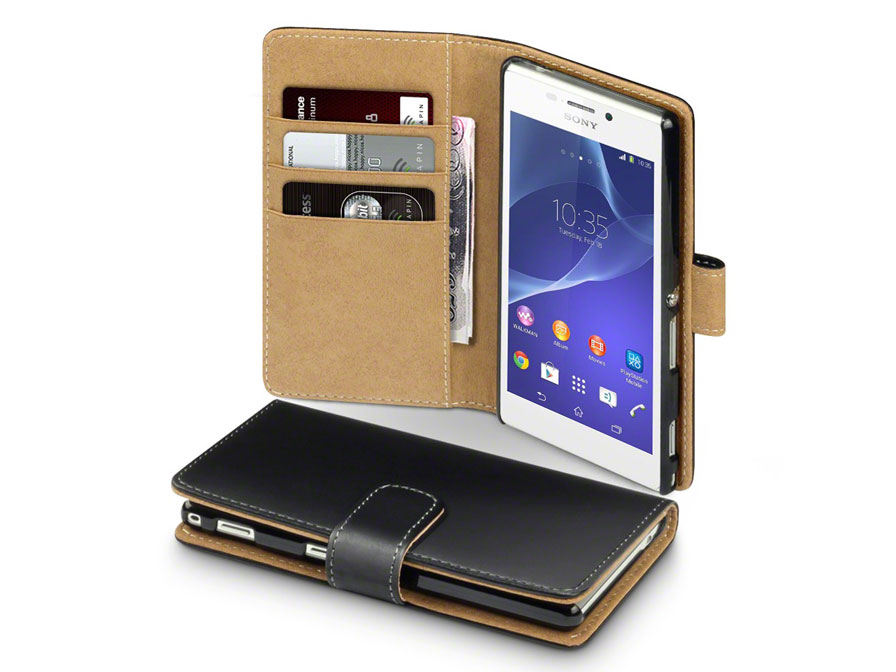 CaseBoutique Wallet Case - Sony Xperia M2 Hoesje