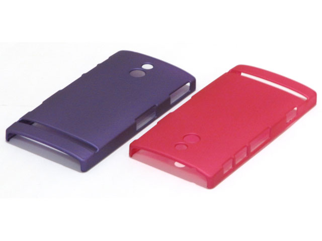 Color Series Hard Case Hoesje voor Sony Xperia P (LT22i)