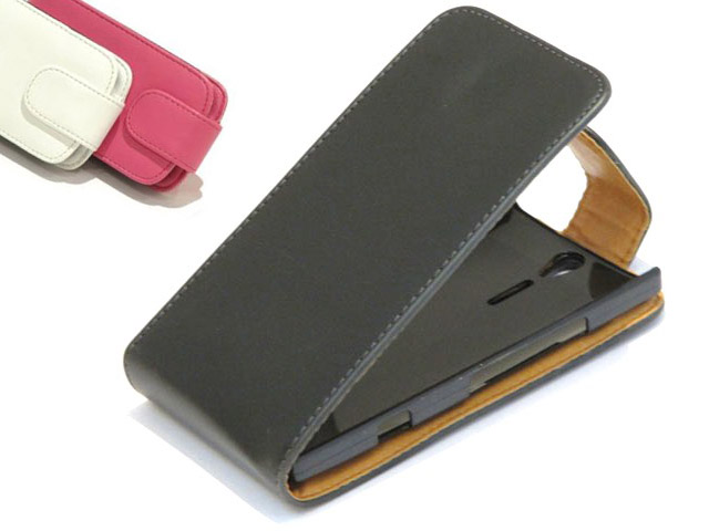 Classic Leather Case voor Sony Xperia S