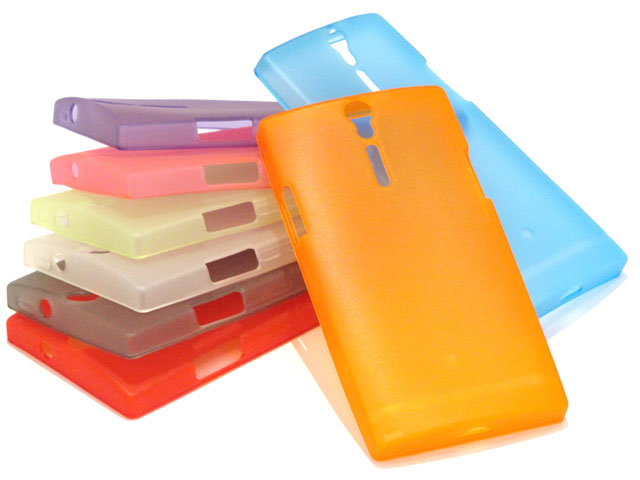 Color Series TPU Case Hoes voor Sony Xperia S