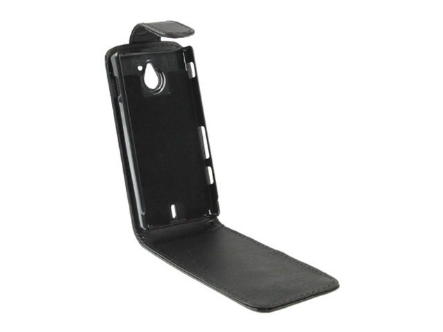 Business Leather Case voor Sony Xperia Sola (MT27i)