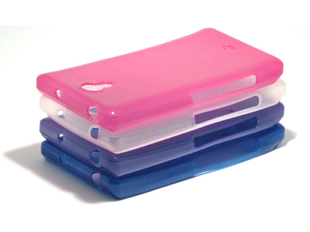 Color Series TPU Soft Case Hoesje voor Sony Xperia T (LT30i)